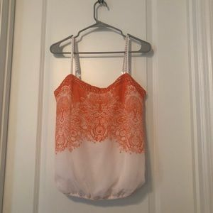 Cute Flowy Tank Top